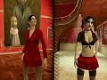 Gothic vampy twins