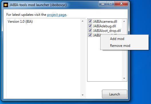 JABIA-Tools mod launcher (Update 4)