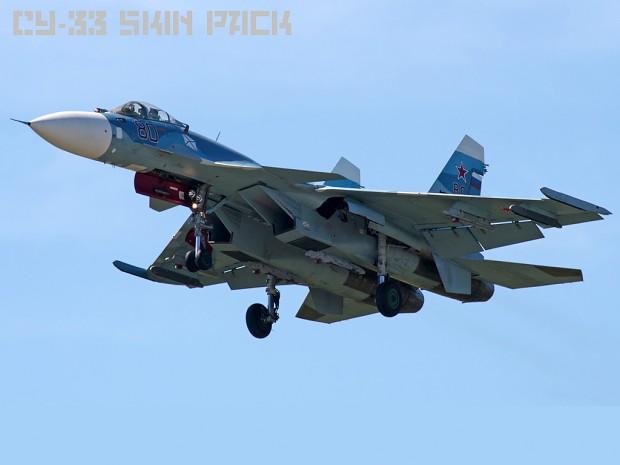 Su-33 Skin pack