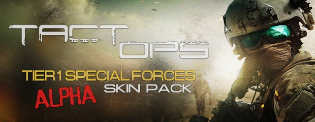 TactOps Special Forces Skin Pack - Alpha