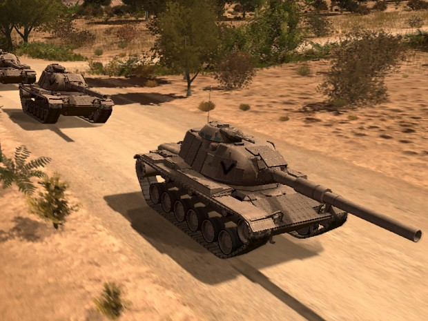 [RLTF] M60 ERA (Desert&Jungle version)