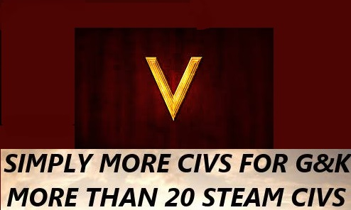 Simply More Civs .7z mod folder