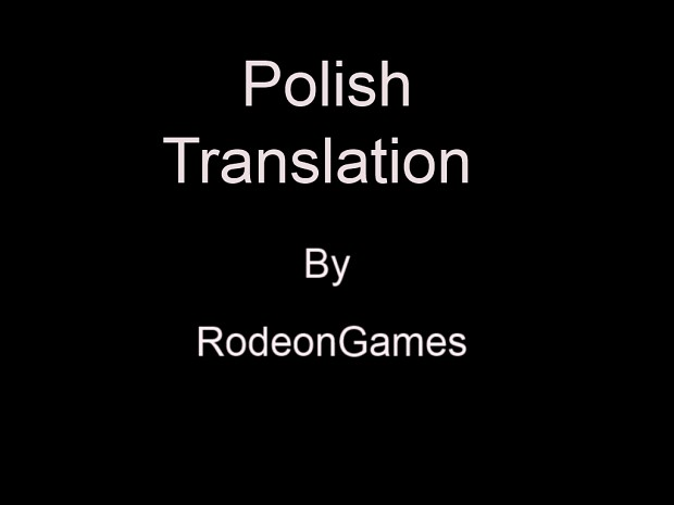 "Premonition ""Polish Translation"""
