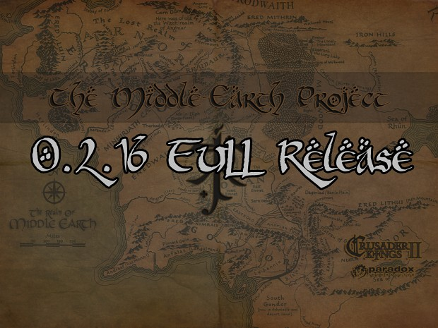 Middle-Earth Project 0.2.1b - Full Release