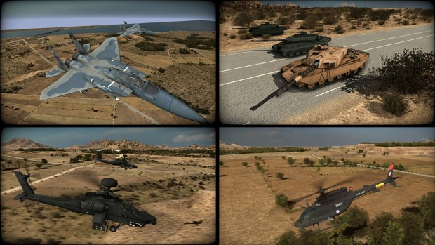 COMThing's Wargame Red Dragon Unit Re-Textures v14