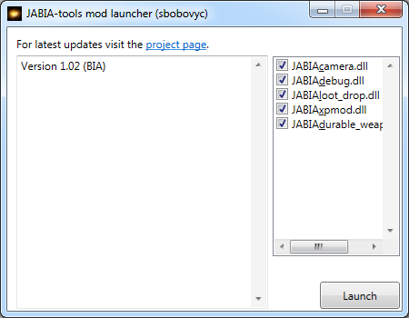 JABIA-Tools mod launcher (Update 5)