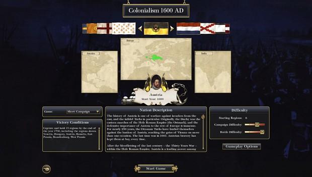 Colonialism 1600AD startpos (updated 05/05/2014)