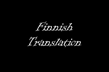 The Mystery of the Mansion (Finnish)