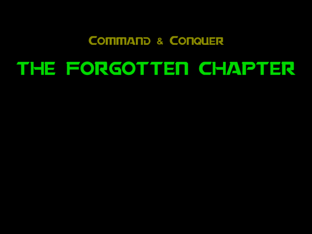 The Forgotten Chapter 0.29b *experimental*