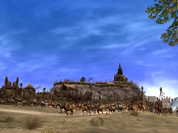 Edoras Skirmish Map