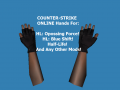 CSO Hands Skins For Half - Life
