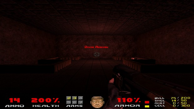 Doom Reborn Alpha Version 0.84 E1M7 Audio Fix