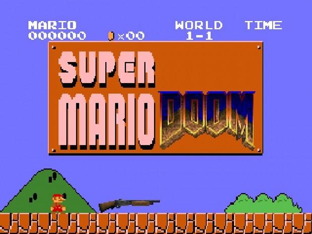 Super Mario Doom [1-5] (Demo)
