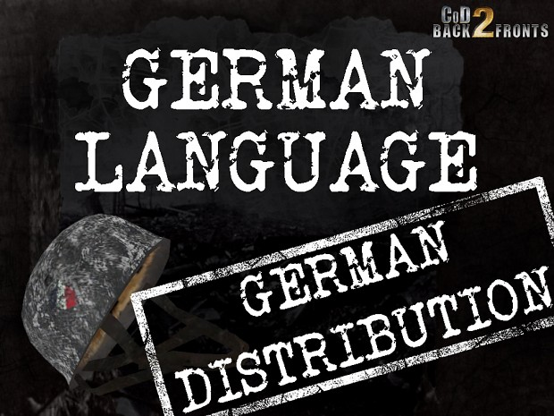 CoD2 German language,GE-distribution (Voice Addon)