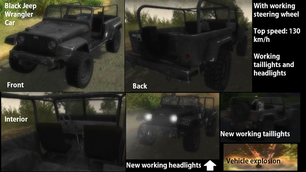 Black Jeep Wrangler v1.4