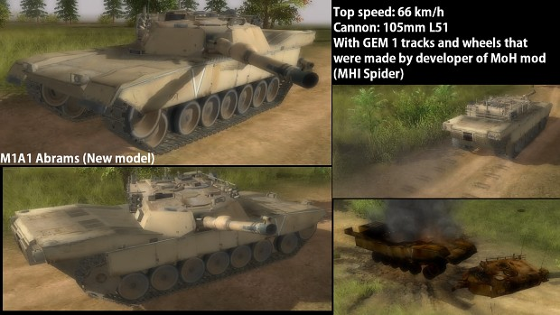 M1A1 Abrams (New model)