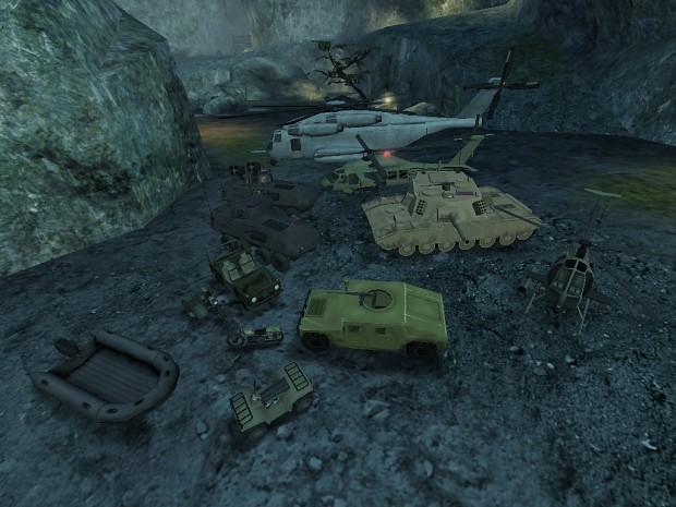 TD Warfare Vehicle Pack