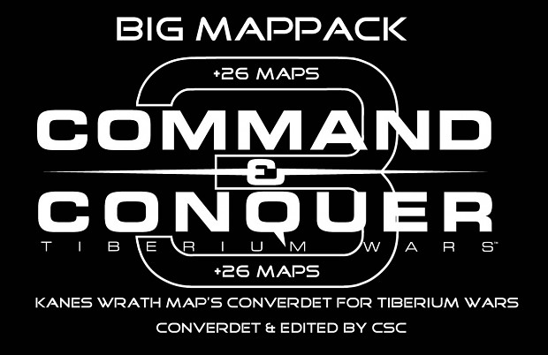 Map Pack +26 KW Maps for TW