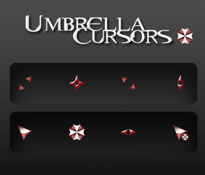 Umbrella Cursors for windows