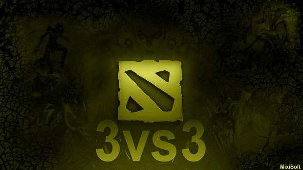 Dota 2 remake 3vs3 (v1.2)
