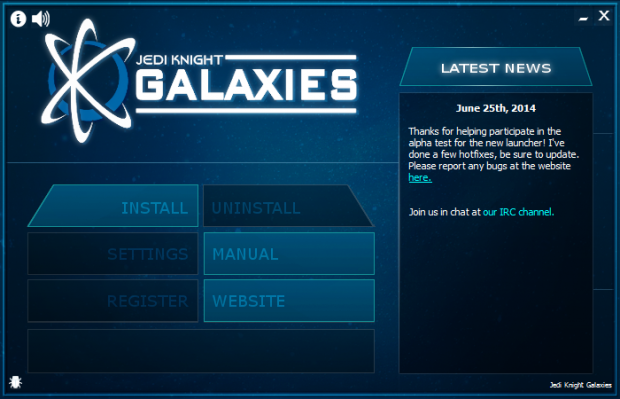 Jedi Knight Galaxies Launcher