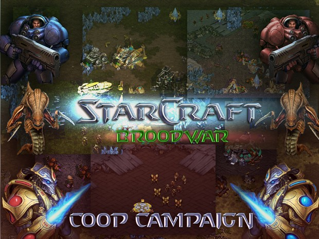 Starcraft Broodwar Cooperative Campaign V1.01