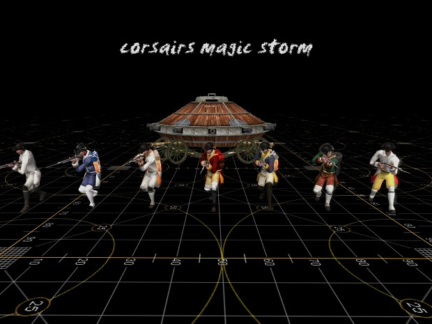 Corsairs Magic Storm v3 (Assault Squad 2)