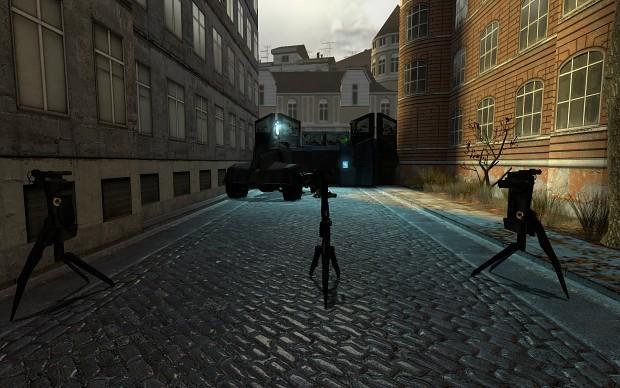 Half Life 2 Friendly Turrets mod