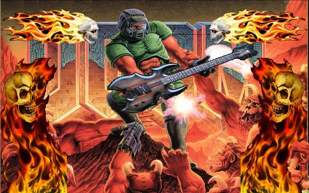 RAGE Techno Metal Pack for Doom 1, 2, and even TNT