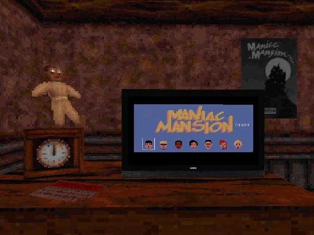 Maniac Mansion 4 Blood