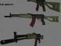 P4F AEK-971 weapon and reskin