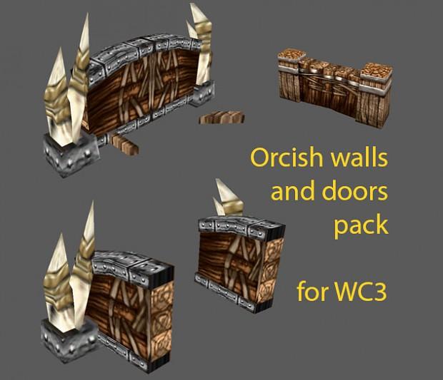 Doors and walls orc