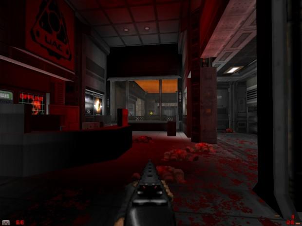 E1M1 Remake: Doom 3 style