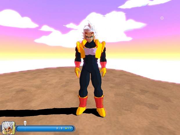 Baby Vegeta (Texture/Skills/Sounds Update)