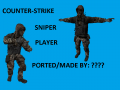 Sniper sas player model cs