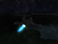 Blue Afterburner Effects