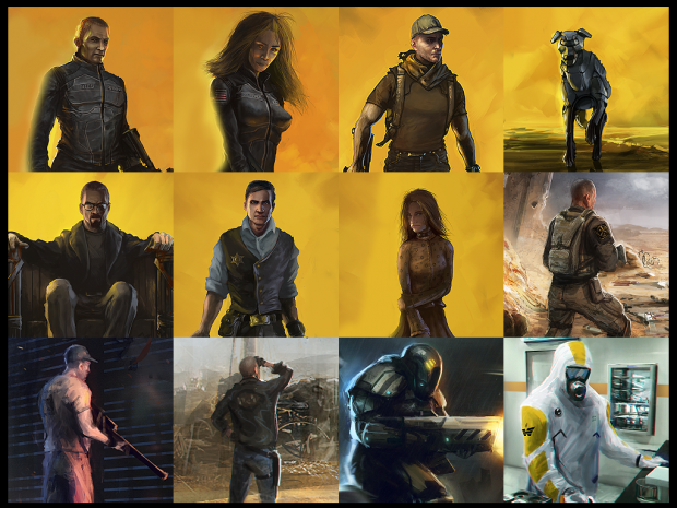 After Reset RPG's custom avatars for Wasteland 2