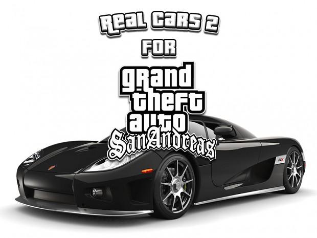 Real Cars 2 For Gta-San Andreas v1.1 BETA