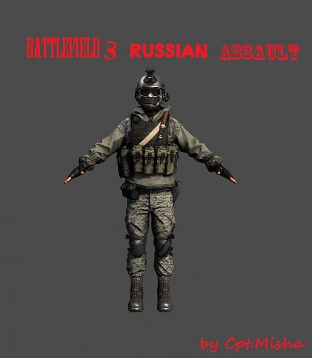Battlefield 3 Russian Assault (Medic)