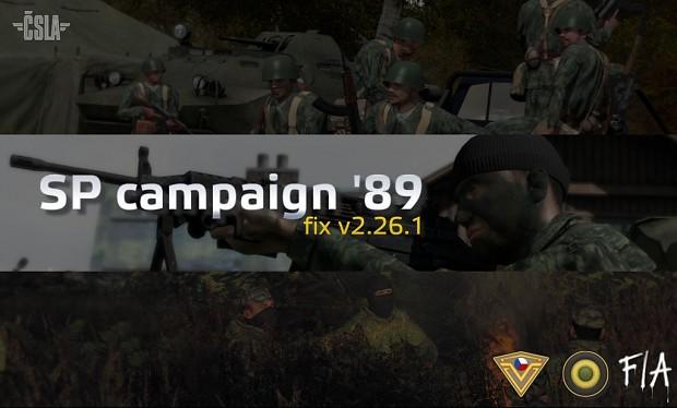 ČSLA SP campaign '89 fix - ver. 2.26.1