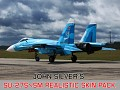 Su-27SM Realistic skin pack