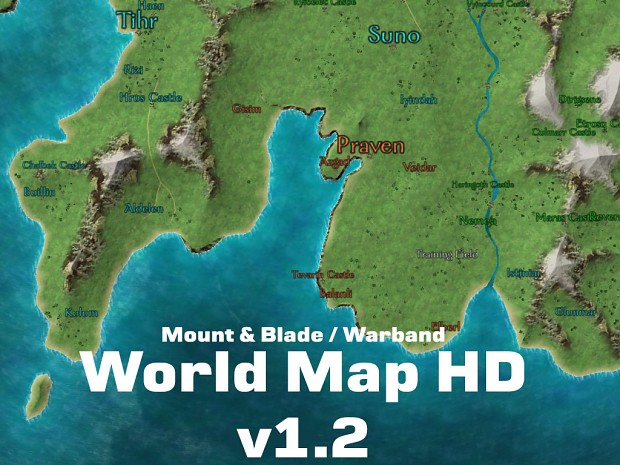 World Map HD v1.2