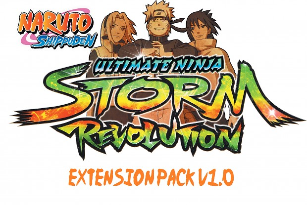 Naruto Storm Revolution : Expansion Pack V1.0 Beta