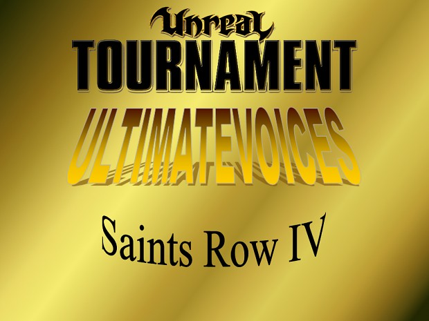 UV - Saints Row IV (35 Voicepacks)