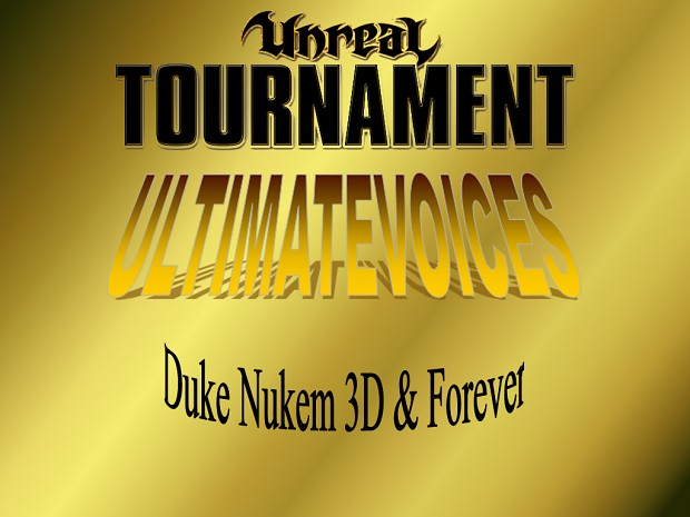 UV - Duke Nukem (Duke Nukem Voicepack)