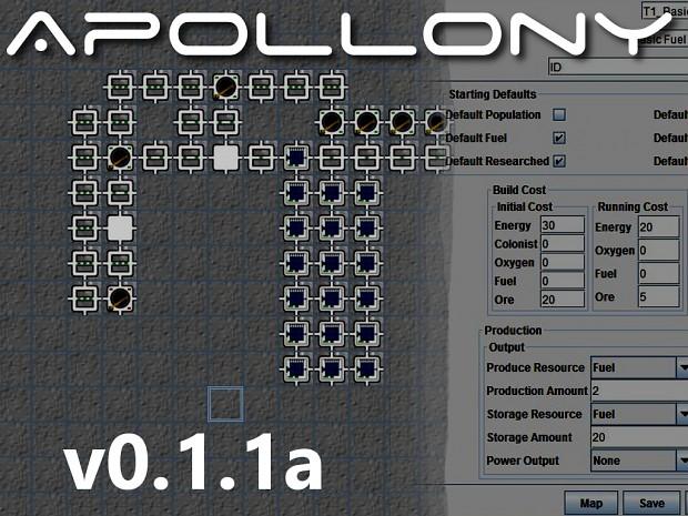 Apollony 0.1.1a