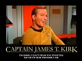 James T. Kirk: How Awesome I Am Edition