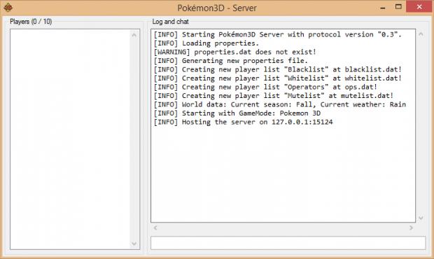 Pokémon3D Server
