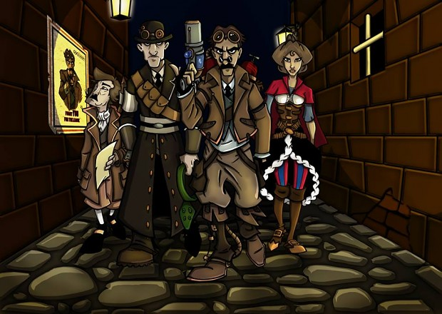 The Steampunk League - Demo