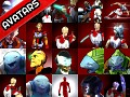 THE BODY CHANGER avatars pack 01
